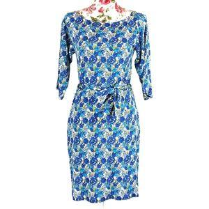 Leota | Compass Rose Sheath Dress Size Small